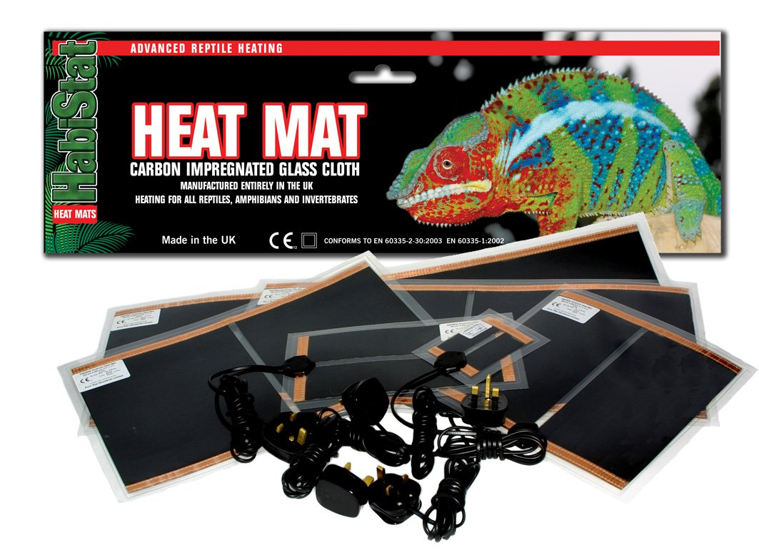 Habistat Heat Mat 7 Watt 6 X 11 Inch Pet Supplies Wiring Tape Reptile Forums Information