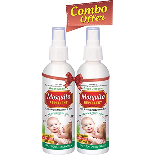 Green Dragon's Mosquito Repellent Spray 100ml (pack of 2)