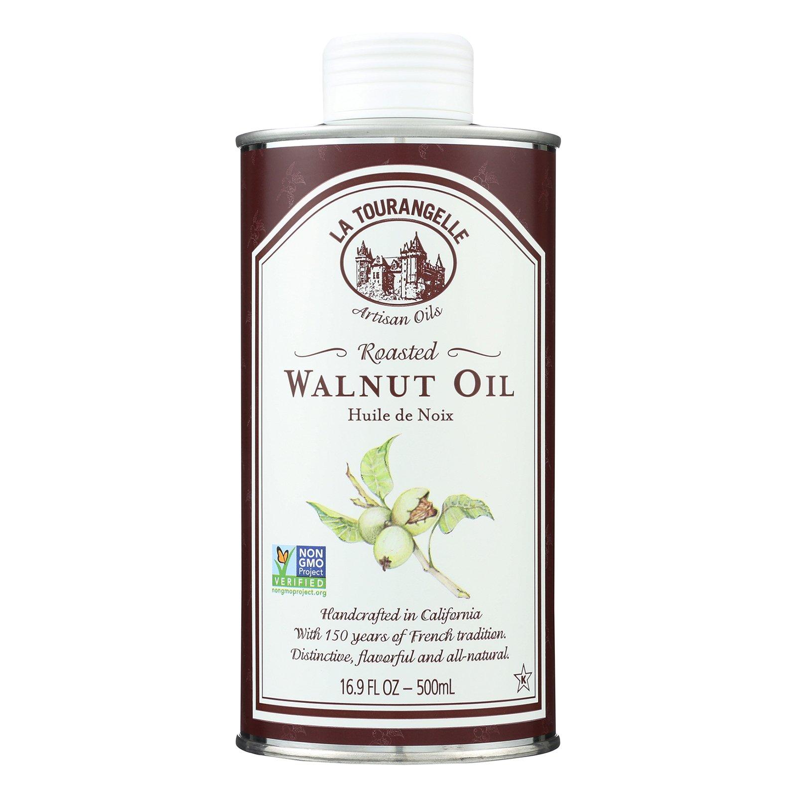 La Tourangelle Roasted Walnut Oil - Case of 6 - 500 ml