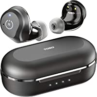 TOZO NC9 Hybrid Active Noise Cancelling Wireless Earbuds, ANC in Ear Headphones IPX6 Waterproof Bluetooth 5.0 TWS Stereo…