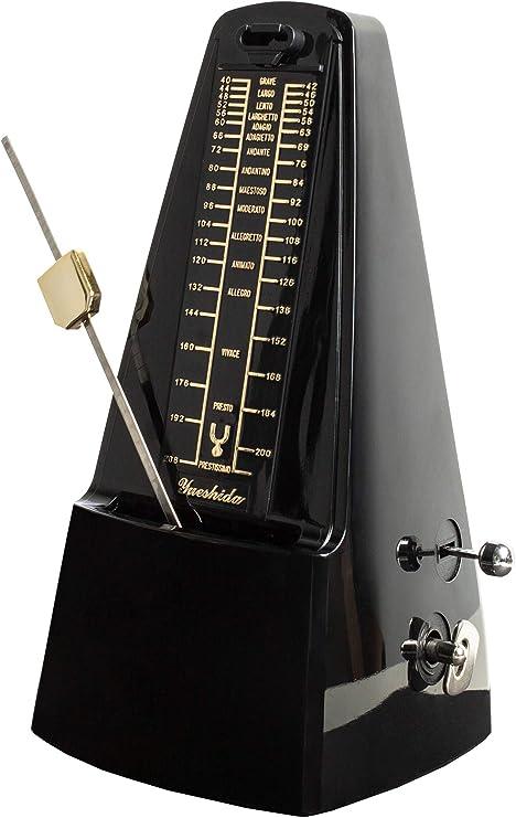 Metrónomo mecánico para Piano, Guitarra, Batería, Bajo, Pista ...