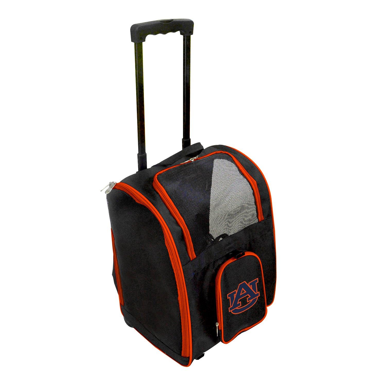 Denco NCAA Auburn Tigers Premium Wheeled Pet Carrier