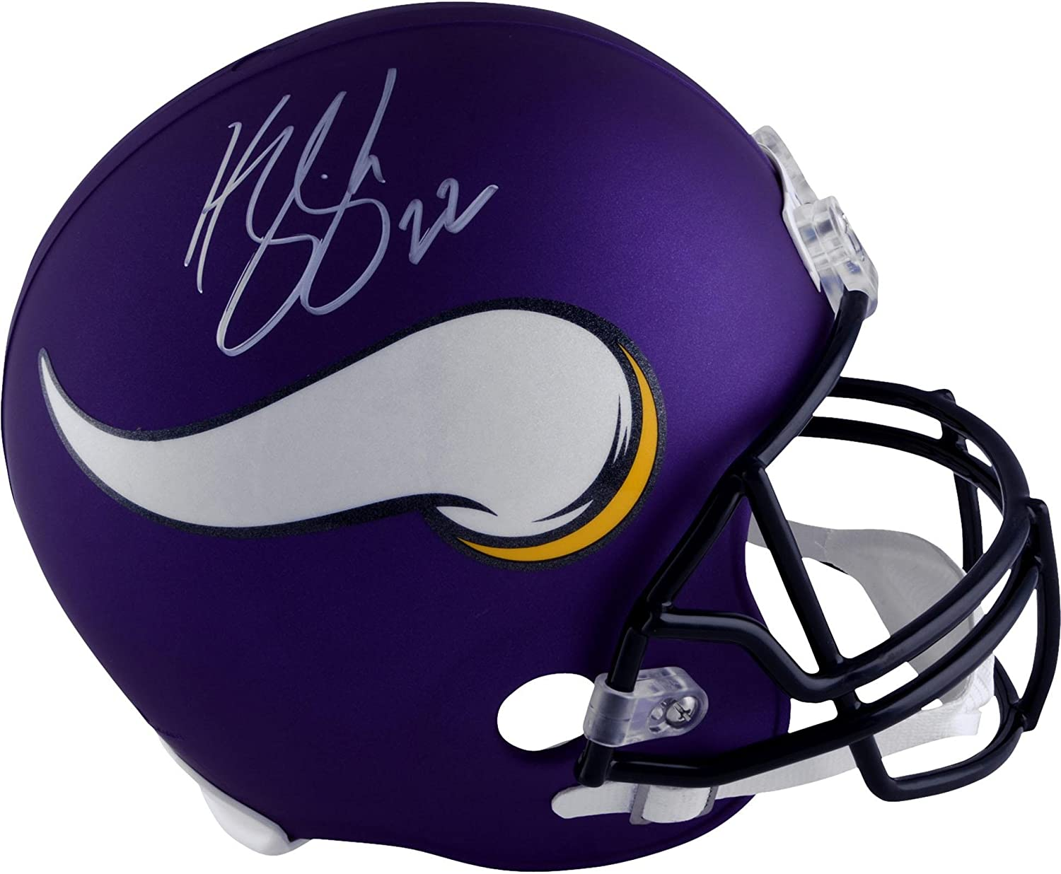 Harrison Smith Minnesota Vikings Autographed Riddell Replica Helmet Autographed NFL Helmets Fanatics Authentic Certified