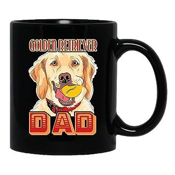 Amazon Com Golden Retriever Ceramic Mug Golden Retriever Dad