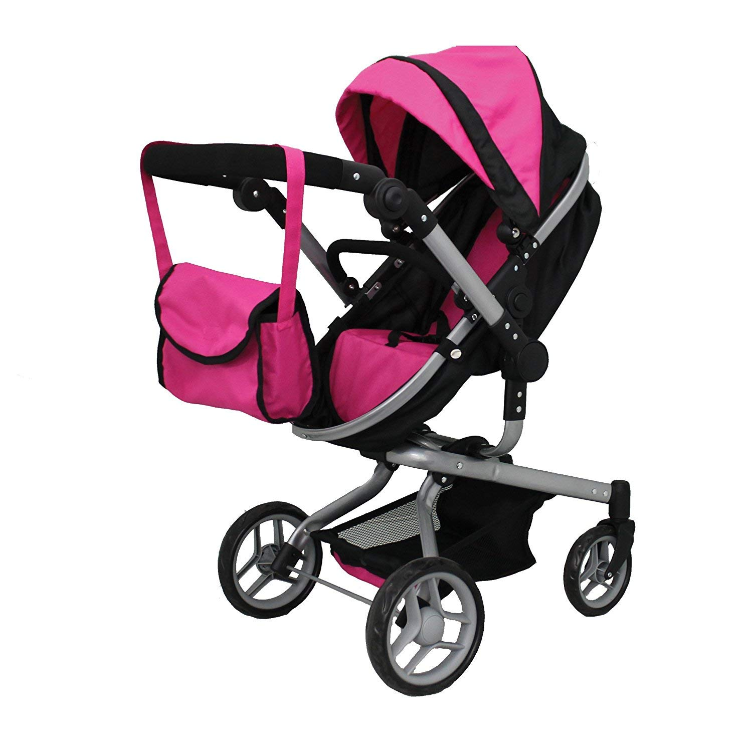Mommy & me 2 in 1 Deluxe Doll Stroller Extra Tall 32'' HIGH (View All Photos) 9695 by Mommy & Me Doll Collection