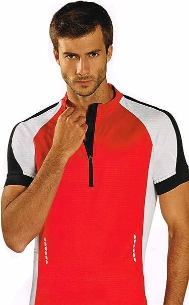 Crivit Herren Funktionsshirt T-Shirt Shirt Freizeit Sport TOPCOOL® Reflektierend