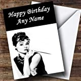 Arnold schwarzenegger personalised birthday card amazon audrey hepburn personalised birthday card bookmarktalkfo Image collections