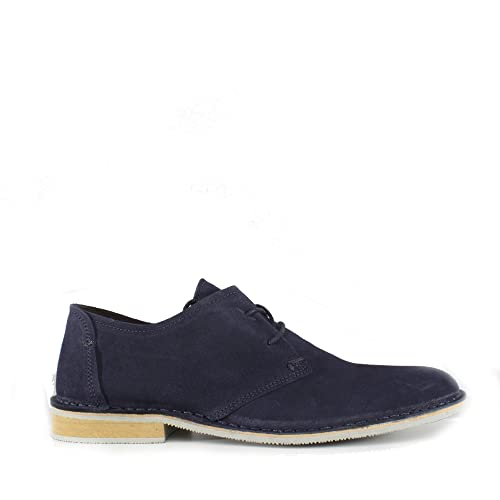 1f1f6d315077 Ikon Franklin Mens Suede Derby Shoes Navy: Amazon.co.uk: Shoes & Bags