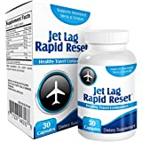 Jet Lag Rapid-Reset: Travel Relief Remedy Supplement Pills - Prevention Complex - Natural Jet Lag Supplements - Formula…