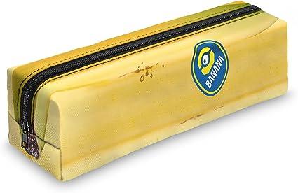 Minion Banana estuche escolar – Estuche escolar Bolígrafos estuche caja lápices Escuela Maquillaje Pinceles Box: Amazon.es: Oficina y papelería