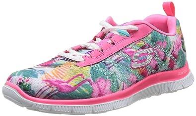 Buy Skechers Flex Appeal Floral Bloom Pink Multi Womens