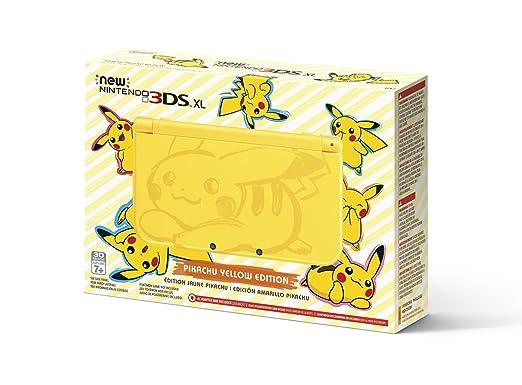 Nintendo New 3DS XL Edición Pikachu