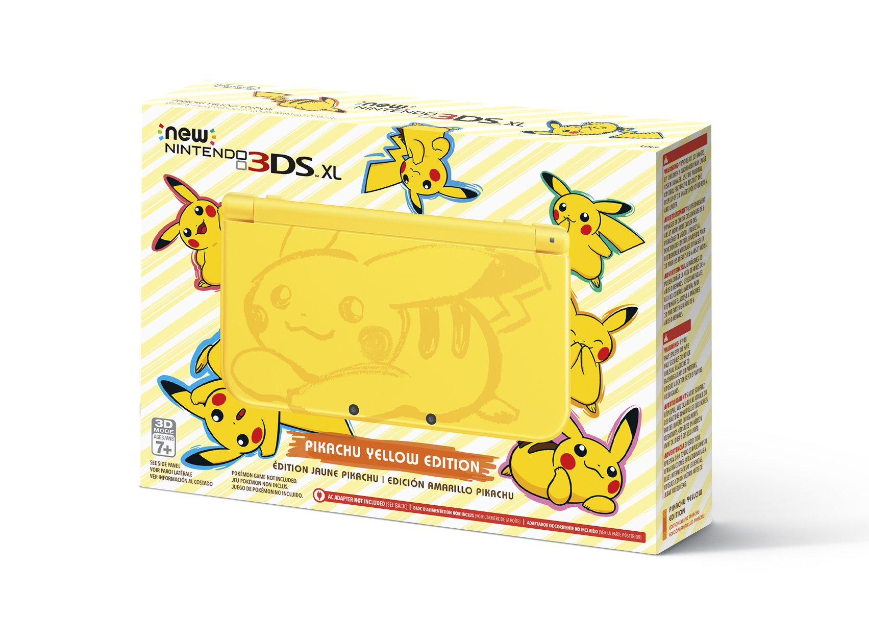 Nintendo New 3DS XL - Pikachu Yellow Edition [Discontinued] by Nintendo