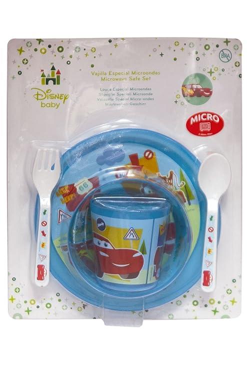 Nuevo. 5 piezas, Cars, Disney Baby - Se puede usar en microondas ...