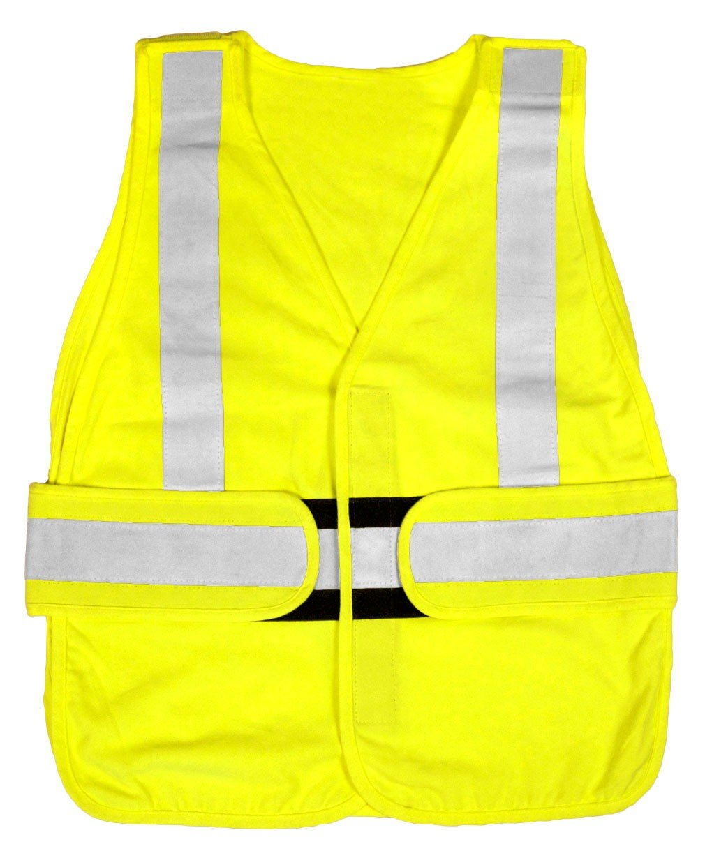 Flame Resist Vest 2XL Class 2 Lime