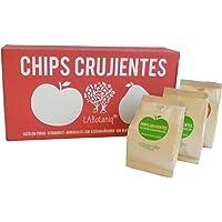 Chips crujentes de manzana Granny Smith 12 bolsas