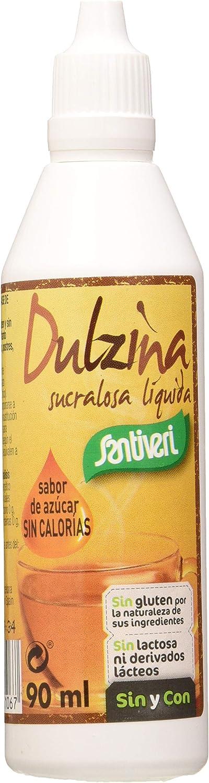 SANTIVERI Dulzina (Sucralosa) Liquida 90 Mililitros - 500 Gramos