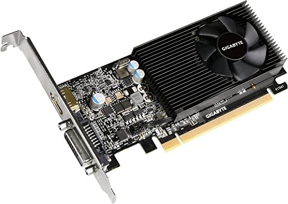 GIGABYTE GeForce GT 1030 GV-N1030D5-2GL Low Profile 2G Computer Graphics Card
