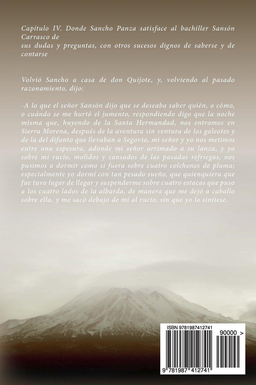 Amazon.com: Don Quijote de la Mancha (Parte 2) (Spanish Edition) (9781987412741): Miguel de Cervantes Saavedra: Books