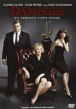 Damages Im Netz Der Macht Die Komplette Vierte Season 3 Dvds