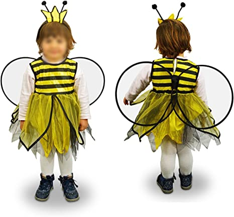 MWS 619434 Disfraz de Carnaval Motivo Abeja (3 a 12 años) - 6/8 ...
