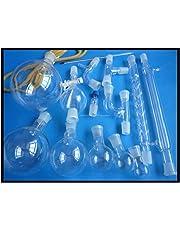 Chemistry Lab Cristalería Kit (Cristal de borosilicato 3.3Cristal de laboratorio)