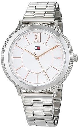 Tommy Hilfiger Reloj Análogo clásico para Mujer de Cuarzo con Correa en Acero Inoxidable 1781851: Amazon.es: Relojes