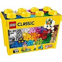 LEGO 10698 Classic Creative grote opbergdoos Bouwset, Speelgoed opslagdoos, Leuke kleurrijke bouwstenen voor LEGO…