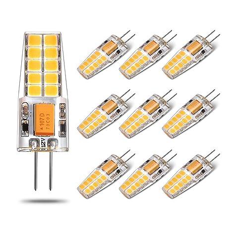 Bombilla LED G4 - Yuiip, 2.5 W Equivalente a 25 W, Blanco Calido (
