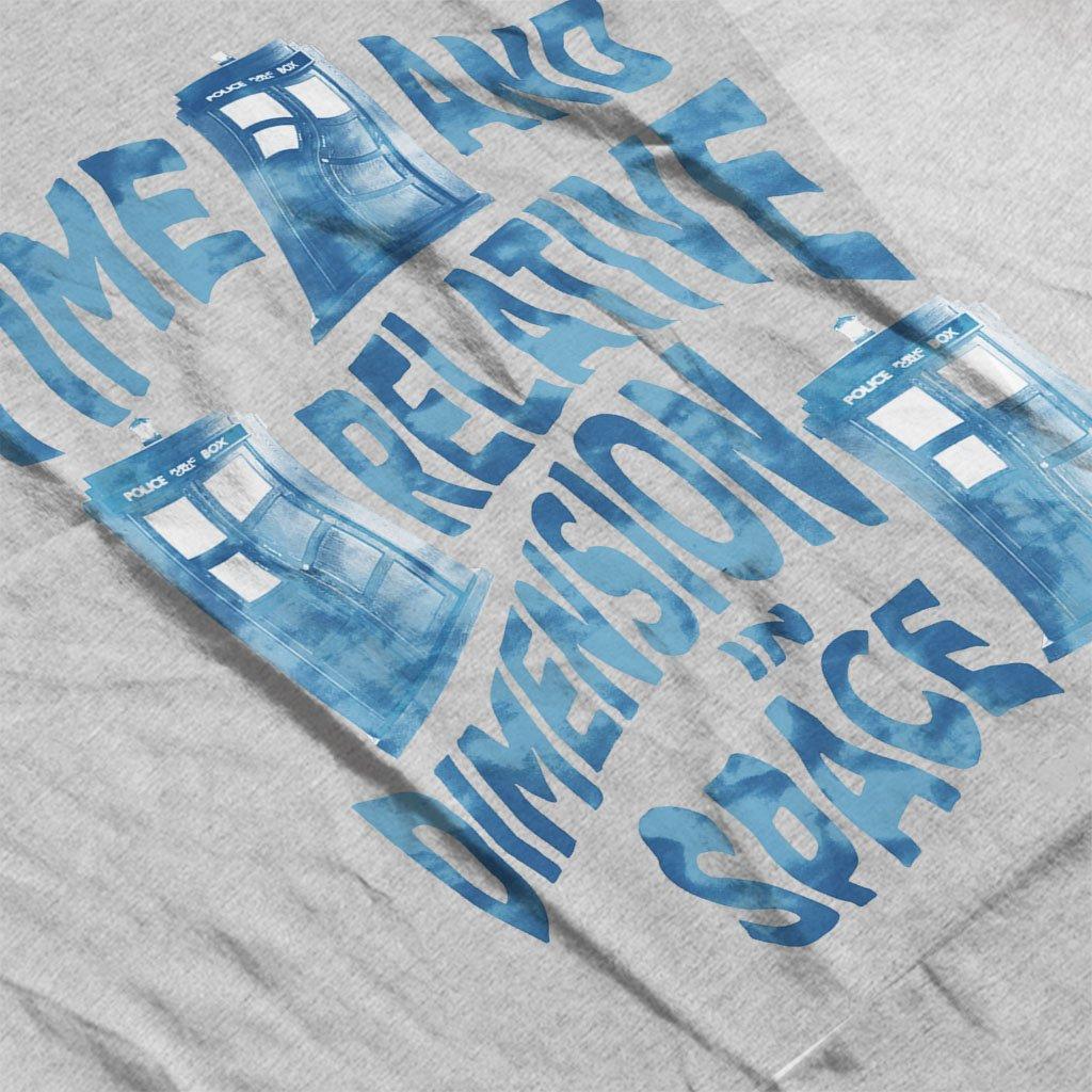 Doctor Who Warped Tardis Kids T-Shirt