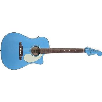 fender sonoran sce dreadnought cutaway acoustic electric guitar lake placid blue. Black Bedroom Furniture Sets. Home Design Ideas