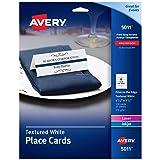 Avery Small Place Cards, Laser & Inkjet