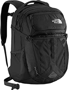 The North Face Unisex Recon Backpack Daypack School Bag, TNF Black
