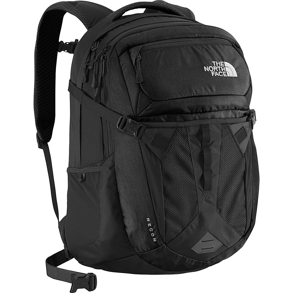 The North Face Unisex Recon Backpack Daypack School Bag, TNF Black by The North Face