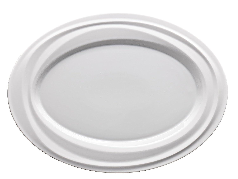 Nendoo Platte Wei/ß /Ø 34 cm Rosenthal