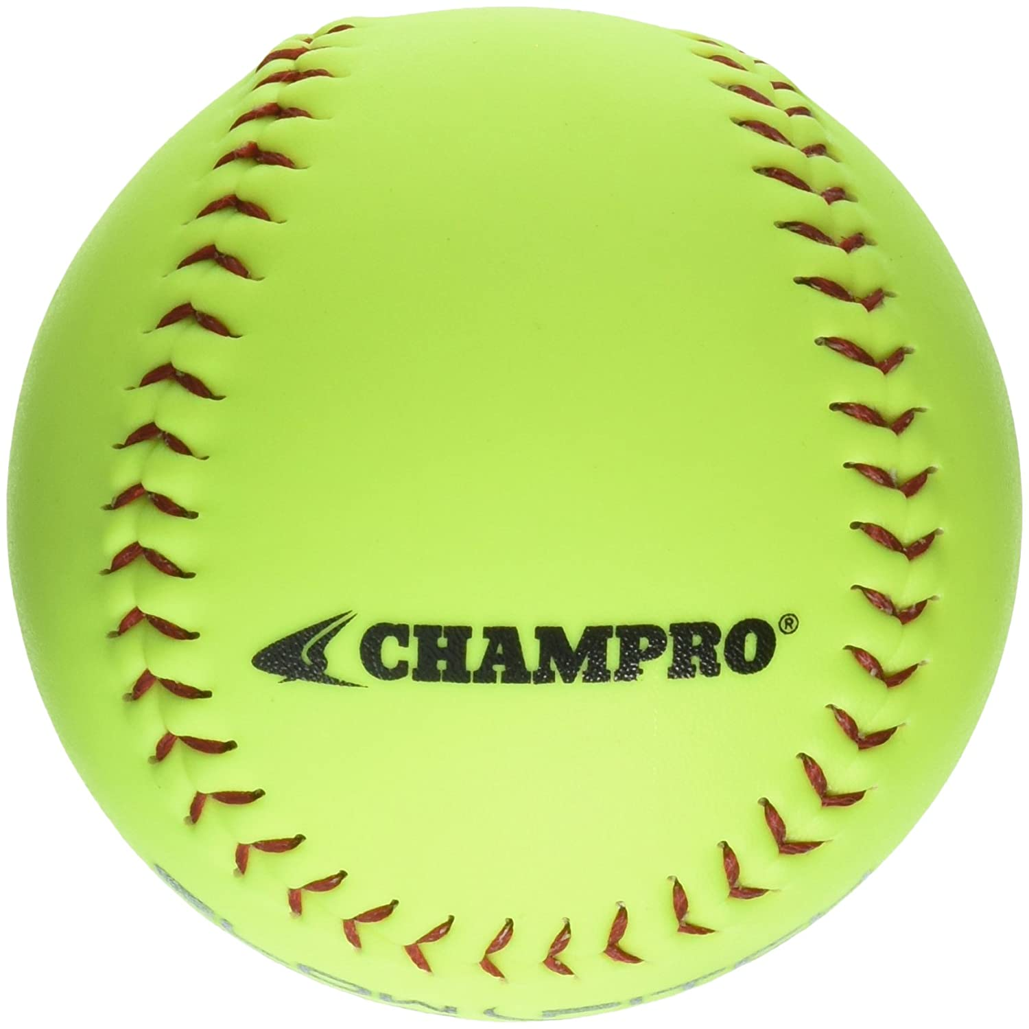 Champro of Game ASA Slow Ptich .44 COR, 375 375 Compression, ASA Poly Synthetic Cover, Red Stiches (Optic Yellow, 30cm ), Pack of 12 B004HH78S4, 剣道良品館:81dc4066 --- sayselfiee.com