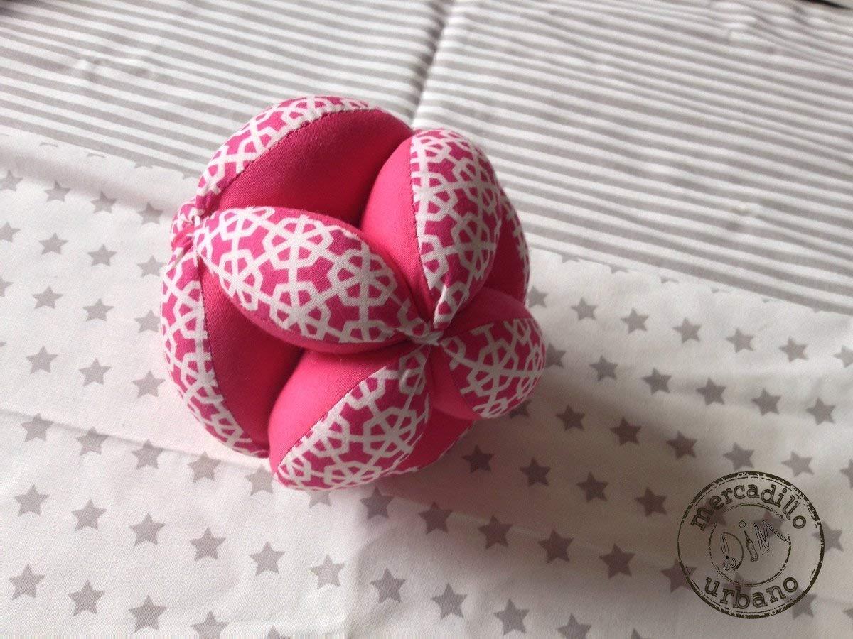 regalo sensorial pelota para beb/és estilo Montessori Pelota infantil rosa y m/ás colores juguetes para beb/és material Montessori