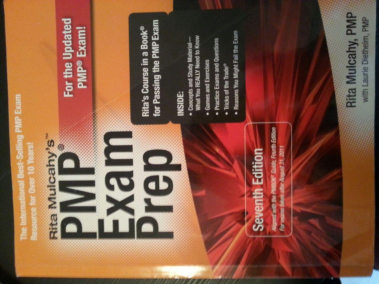 Pmp Exam Prep 7th Edition Rita Mulcahy 9781932735451 Amazon