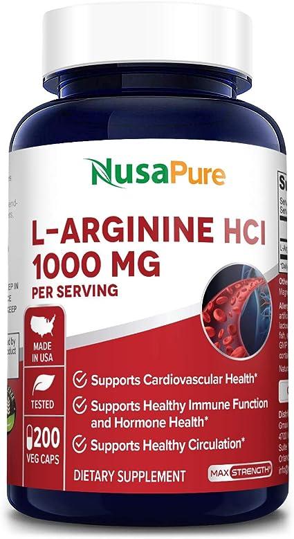 medicamentos con arginina