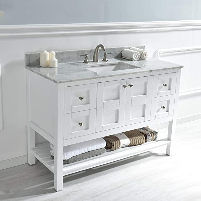 Amazon.com: Woodbridge Sydney-4821-White 48