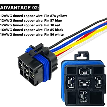 Rantecks 1250PCSTerminales Cables electricos AWG 6 8 10 12 14 Conector de crimpado de cobre F/érulas no aisladas Terminal del extremo del cable del pasador