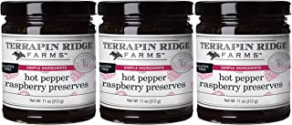 product image for Terrapin Ridge Farms Hot Pepper Raspberry Preserves, 11 Ounces Pack of 3 (Raspberry Preserves, Pack of 3)