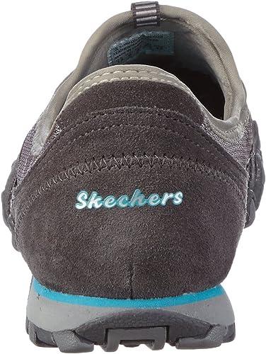 Skechers Damen Bikers hot ticket Sneaker, Grau (CCGY), 42 EU