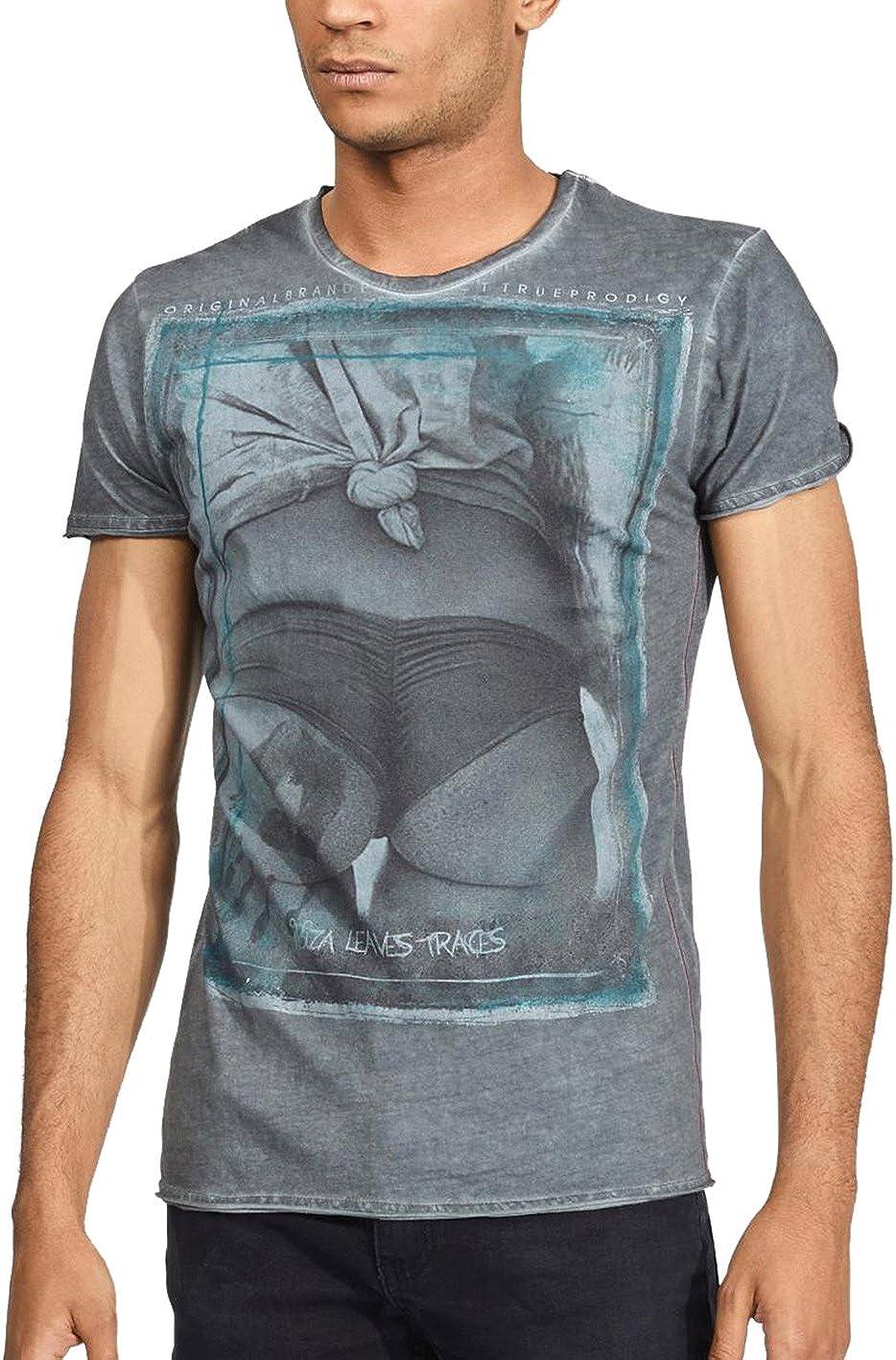 trueprodigy Ibiza Leaves Traces Camiseta para Hombre