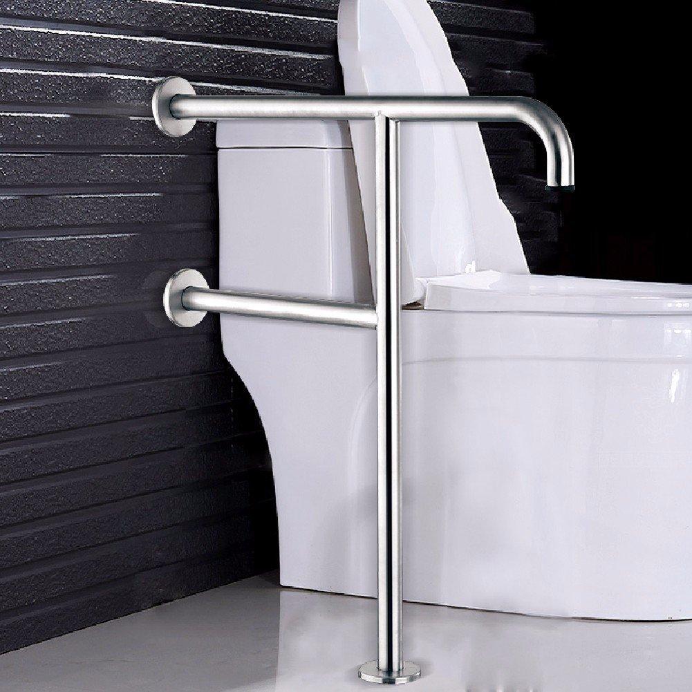 WAWZJ Handrail Stainless Steel L Shape Barrier Armrest Bathroom Safety Corner Armrest