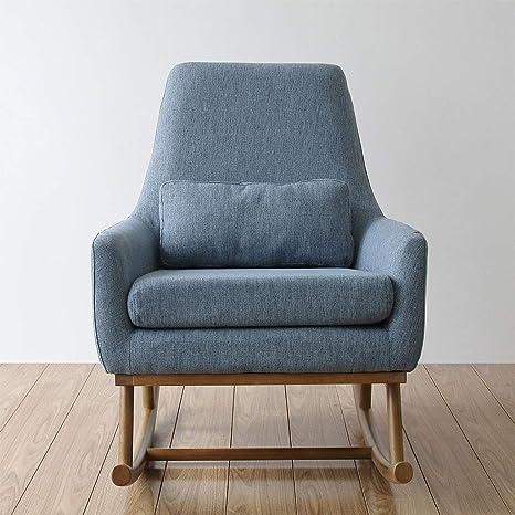 Amazon.com: HYYTY-Y Single Sofa Rocking Chair, Fabric Solid ...