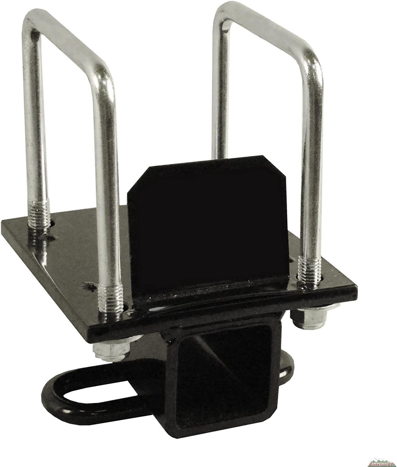 """RV Camper 4/"""" or 4-1//2/"""" Bumper Mount Hitch Receiver Adapter for Bike Toter Cargo"""