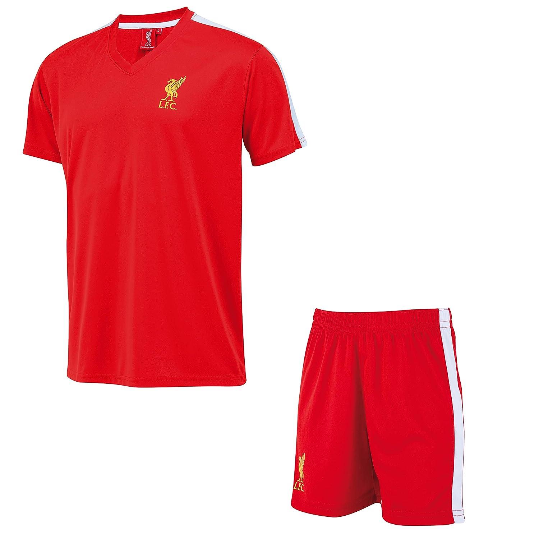 Liverpool Conjunto Camiseta + Pantalones Cortos LFC - Colección ...