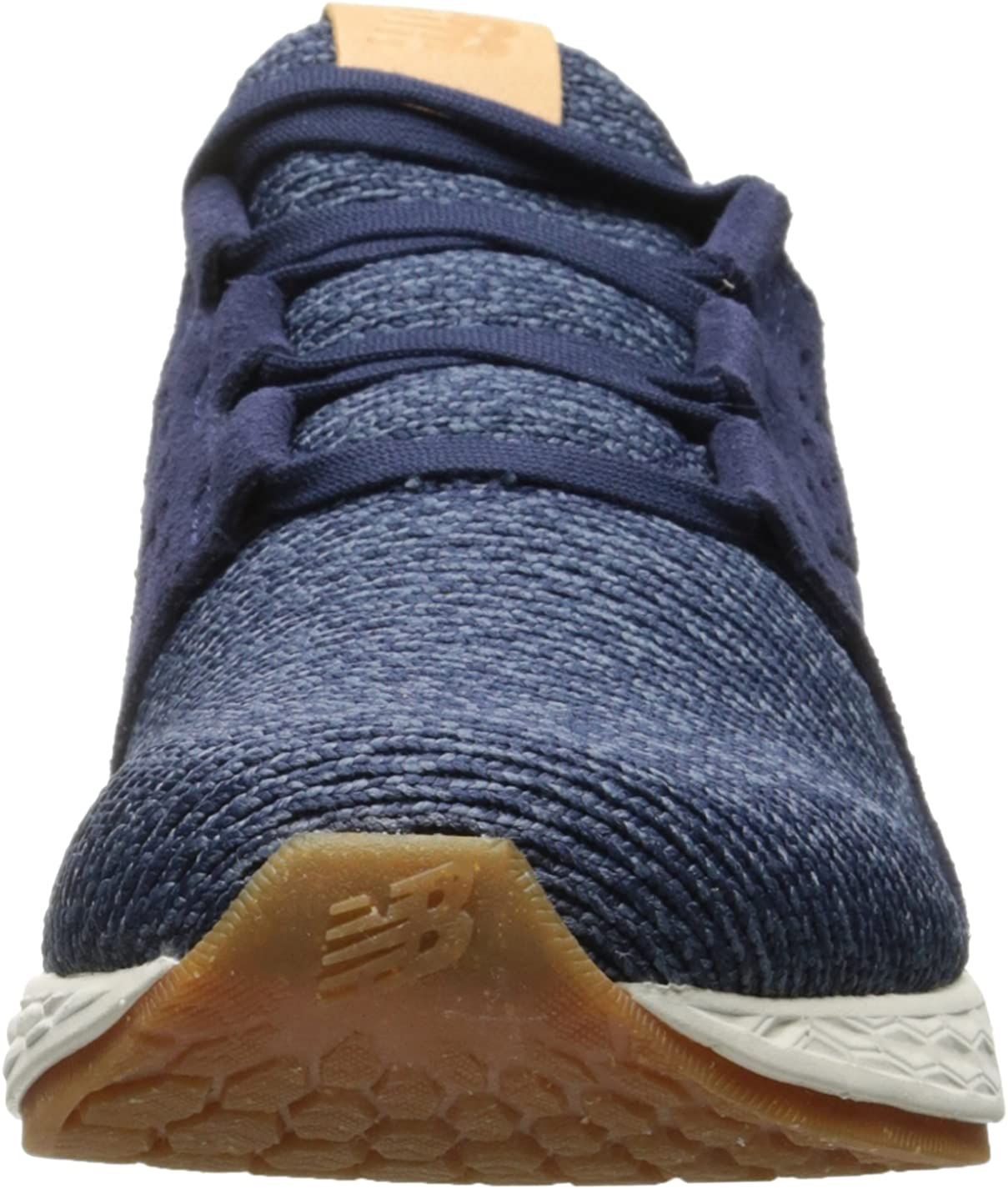 New Balance Women s Fresh Foam Cruz v1 Running Shoe, Vintage Indigo Sea Salt, 9 B US