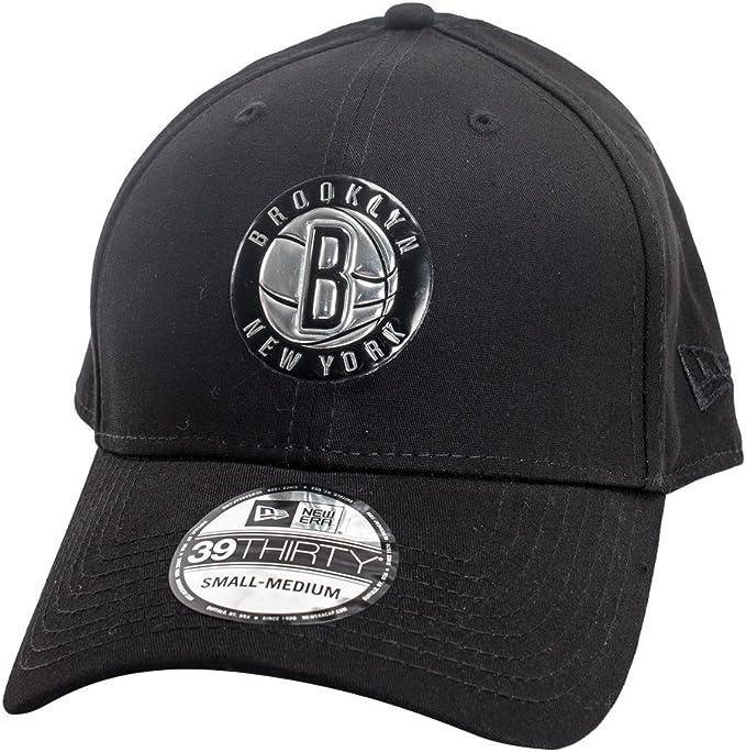 Gorra New Era – 39Thirty Nba Brooklyn Nets Metallic negro talla: M ...